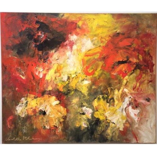 Charlotte Molenkamp schilderij Spanish Garden