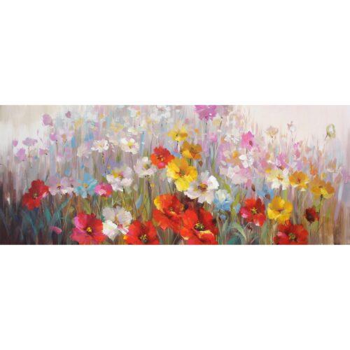DecoArt schilderij 'Bloemenzee'