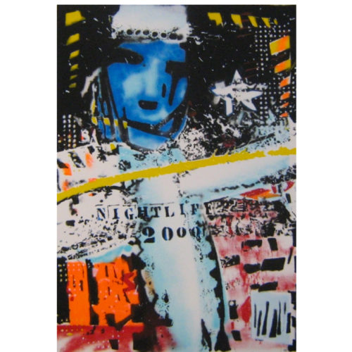 Herman Brood zeefdruk 'Nightlife 2000'