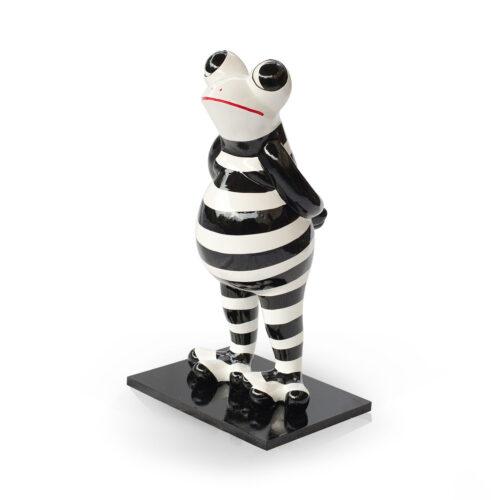Niloc Pagen Standing Frog 'Black & White'