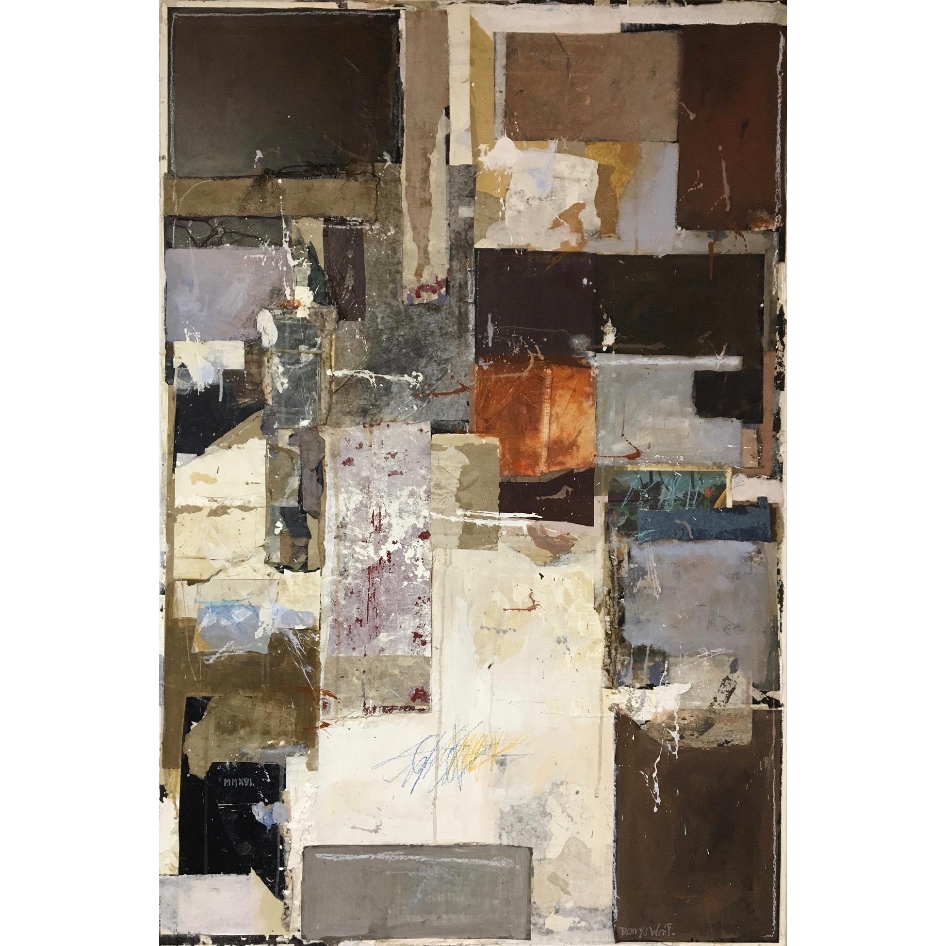 Ron van der Werf schilderij