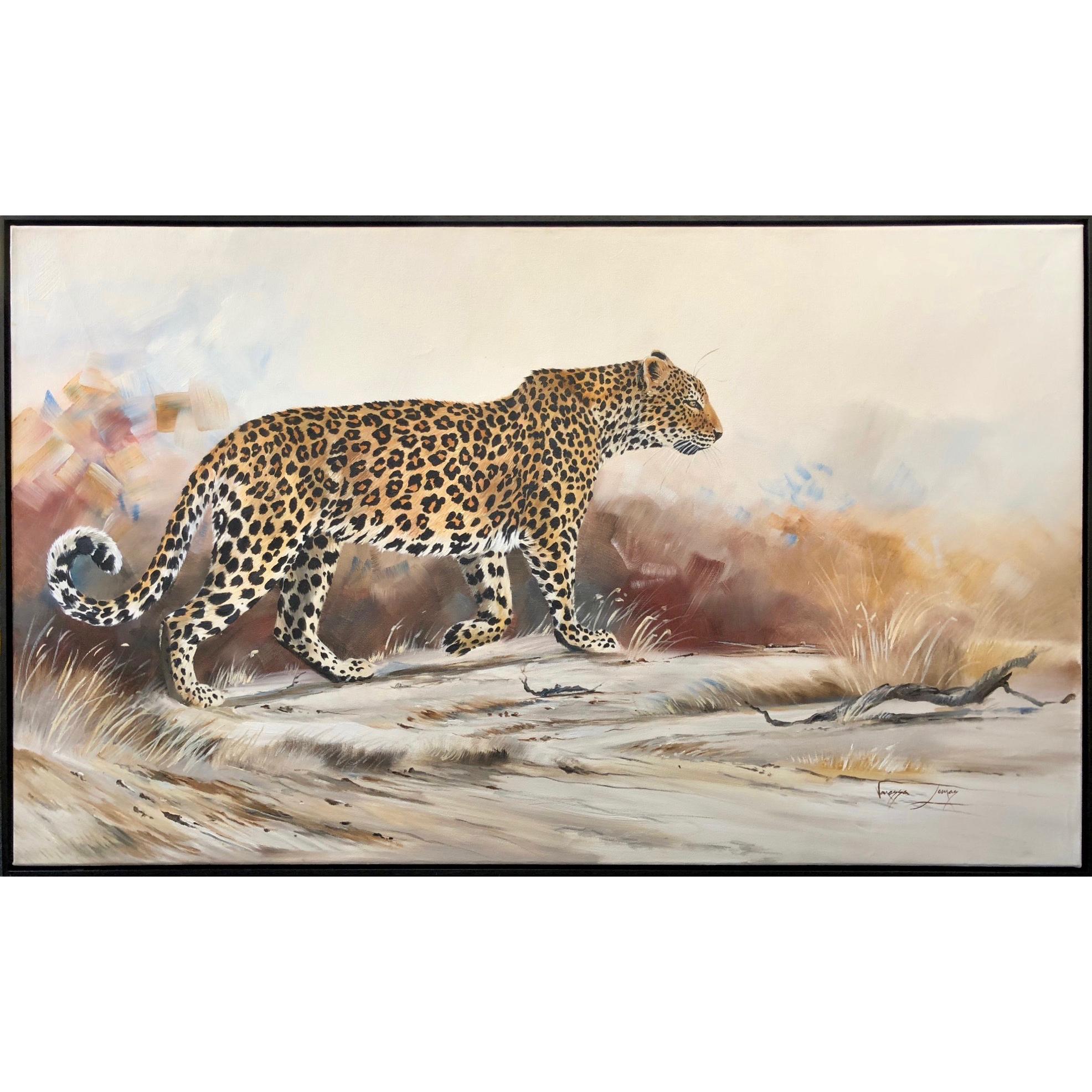 Vanessa Lomas schilderij 'It is all about the spots'
