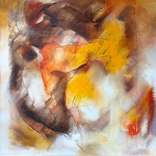 Wil Lof schilderij 'Ontmoetingen 0516'