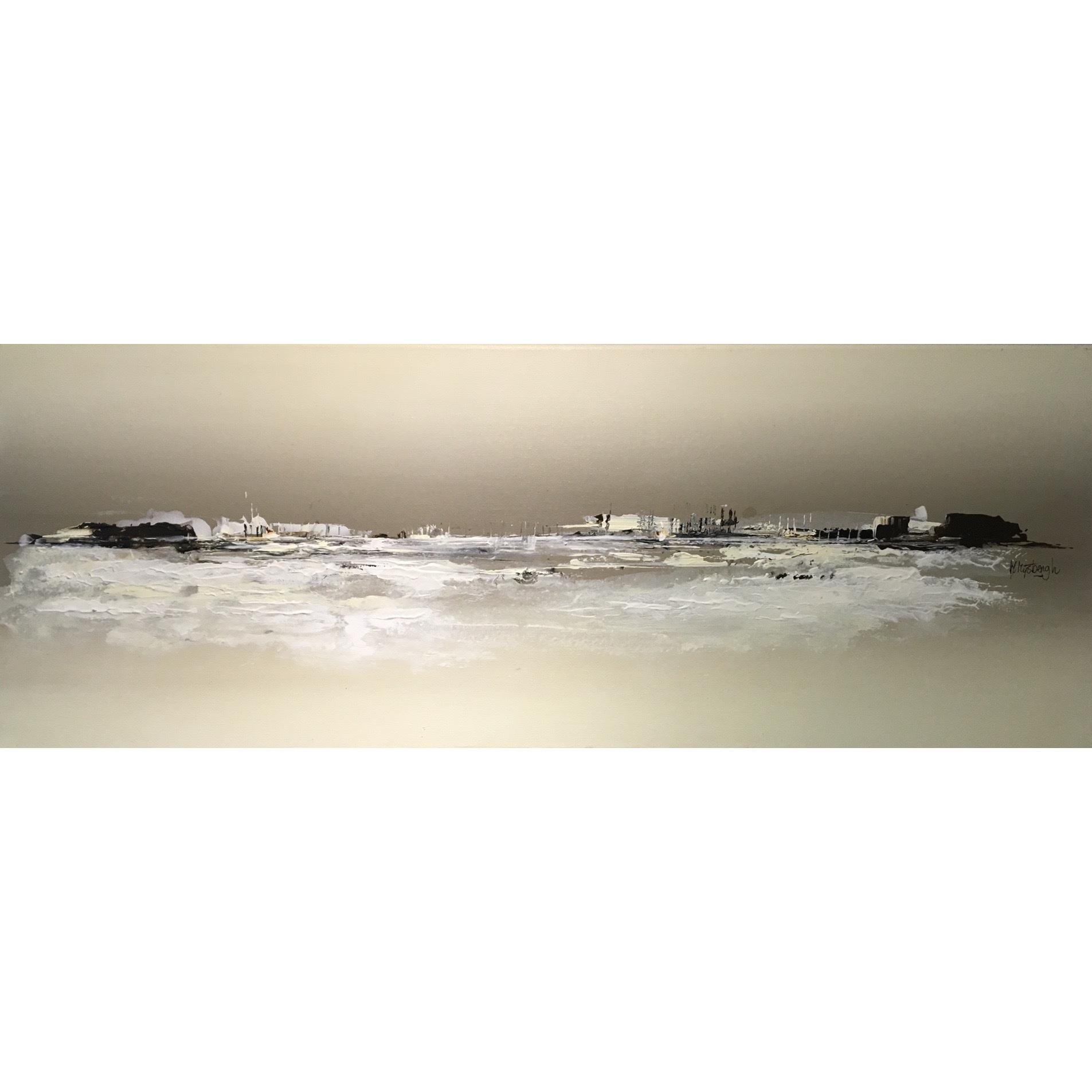 Margret Mijsbergh schilderij 'White world'