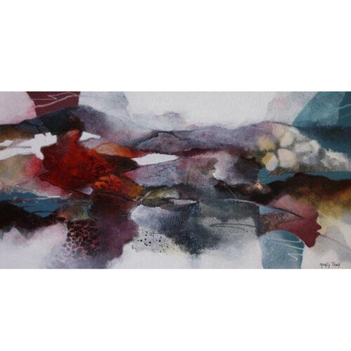 Marly Freij schilderij abstract