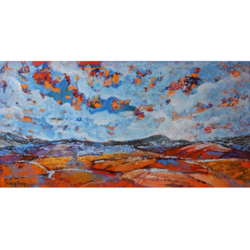 Marly Frey schilderij landschap I
