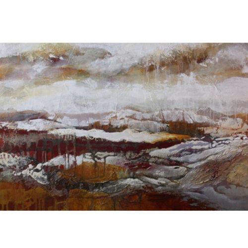 Marly Freij schilderij 'Landschap III'