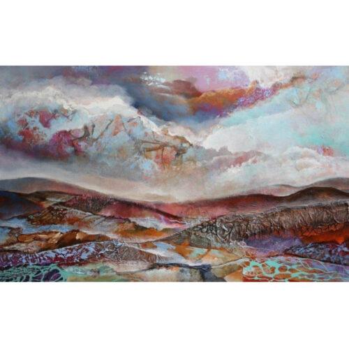 Marly Freij schilderij landschap II