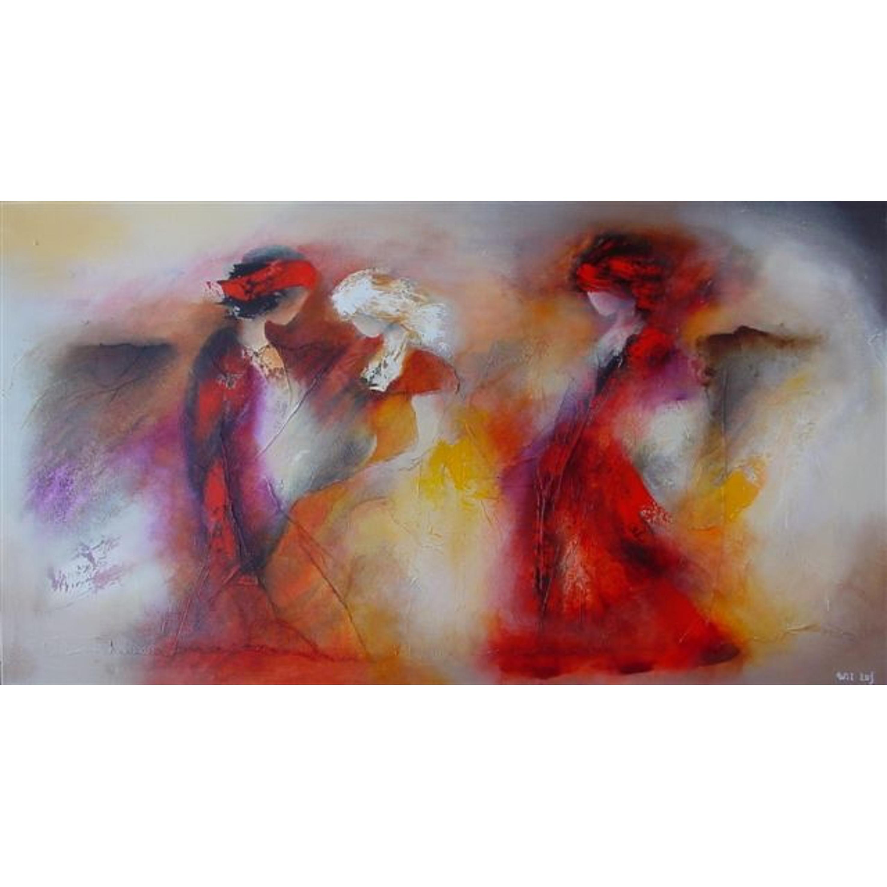 Wil lof schilderij 'Autumn' 100 x 180 cm