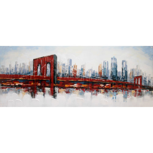 DecoArt 3D schilderij 'Brooklyn Bridge'
