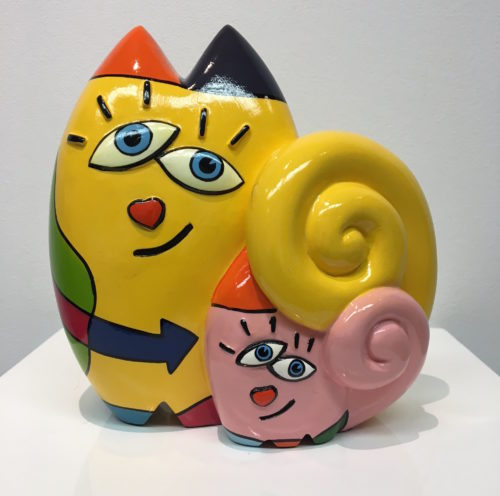 Jean-Paul Marsman beeld 'Together Cats' (S)