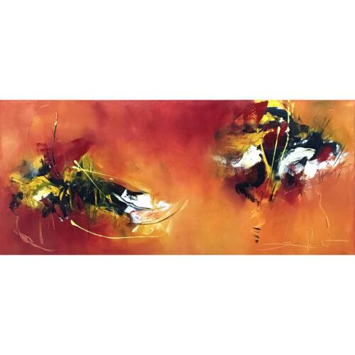 Isabelle Zacher-Finet schilderij 'Secret place'