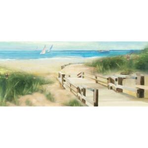 Schilderij 'Strandopgang'