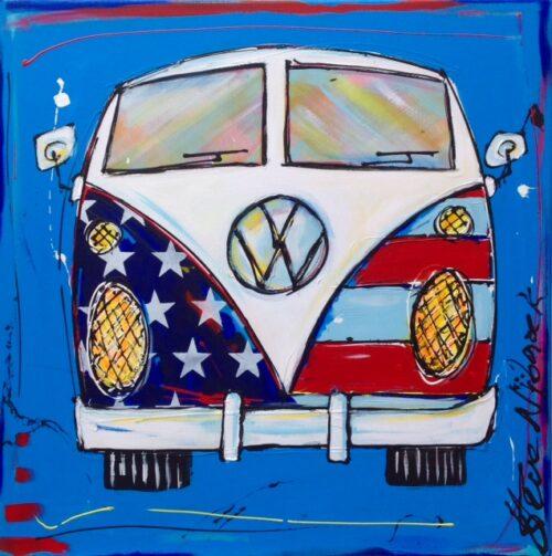 Steve Nijbroek beeld 'VW Bus'
