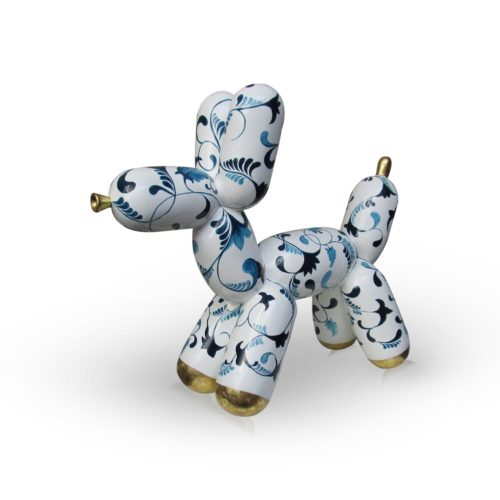 Niloc Pagen Balloon Dog 'Delft's Blue' M
