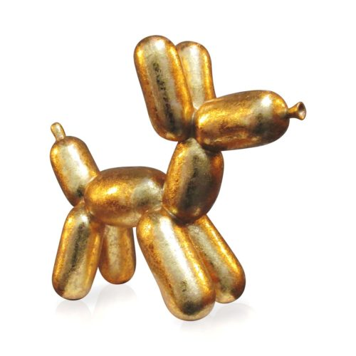 Niloc Pagen beeld Balloon Dog 'Gold' medium