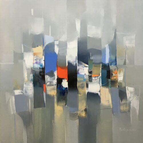Plamen Bibeschkov schilderij 'Abstract I'