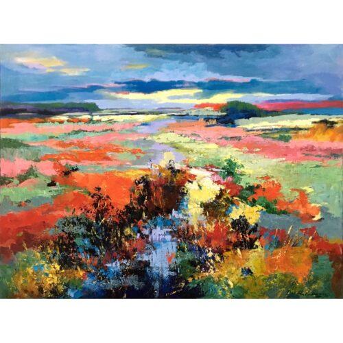 Ricky Damen schilderij 'Autumn'