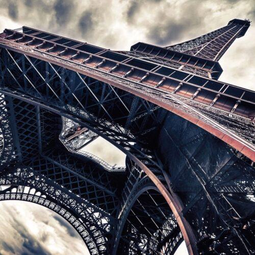 Foto op glas ' Parijs '