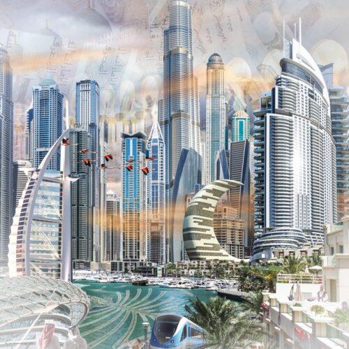 Groeneweg fotocompilatie 'Dubai'