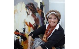 Ricky Damen schilderijen