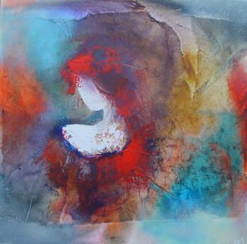 Wil Lof schilderij 'Louise 1102