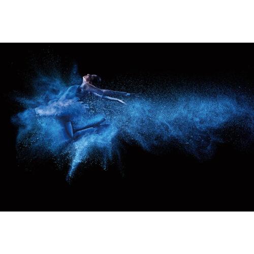 Foto op glas 'Ballerina'