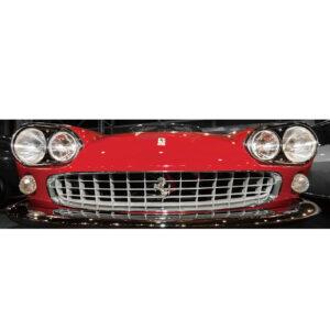 Foto op glas 'Vintage Ferrari'
