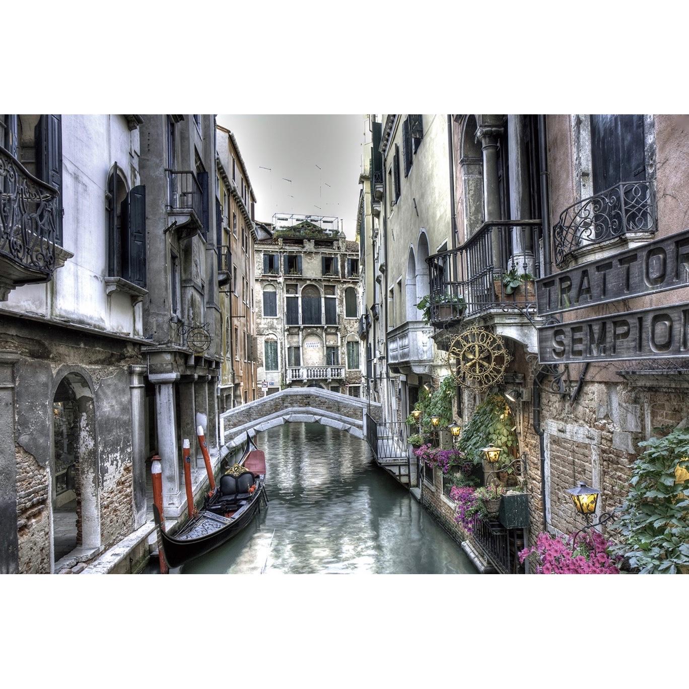 Foto op glas 'Venetie'
