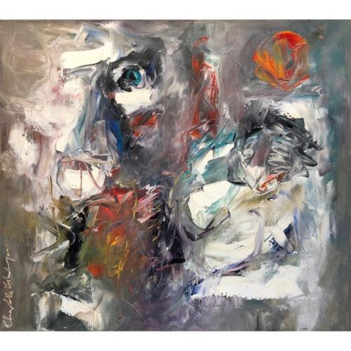 Charlotte Molenkamp schilderij 'Kinderfeest'