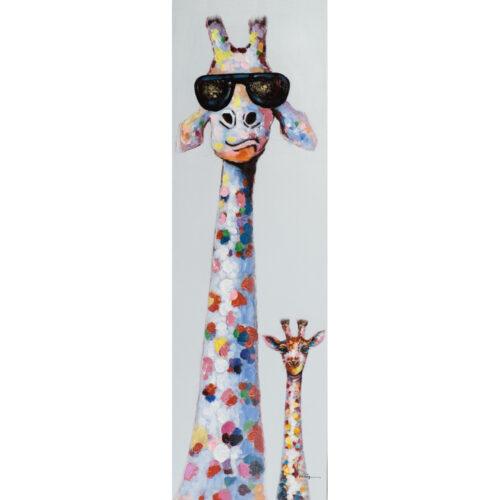 DecoArt schilderij 'Giraffen'