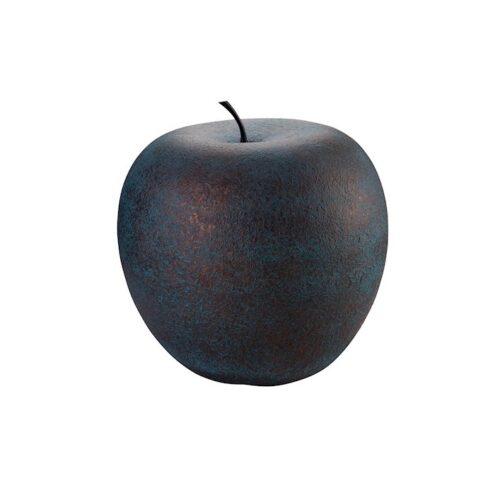 Design keramiek beeld 'Appel brons'