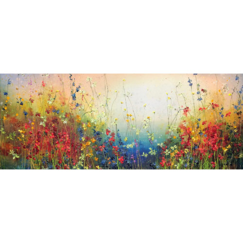Yulia Muravyeva schilderij 'Field of flowers'