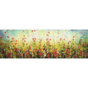 Yulia Muravyeva schilderij 'Field of flowers'