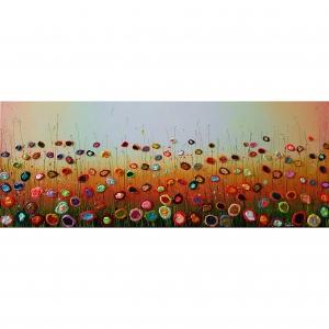 Yulia Muravyeva schilderij 'Sunny field