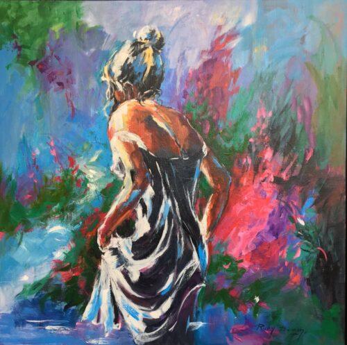 Ricky Damen schilderij 'Femina'