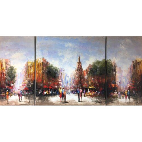Henry Brand schilderij '3-Luik'