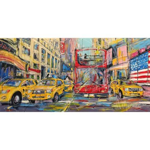 Mathias Schilder schilderij 'New York'