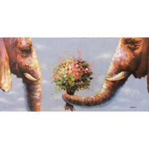 Schilderij 'Because I love you'