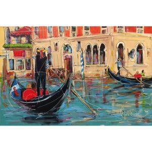 Mathias Schilder schilderij 'Venetie'