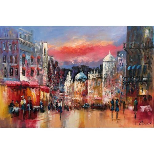 Henry Brand schilderij 'Riviera'