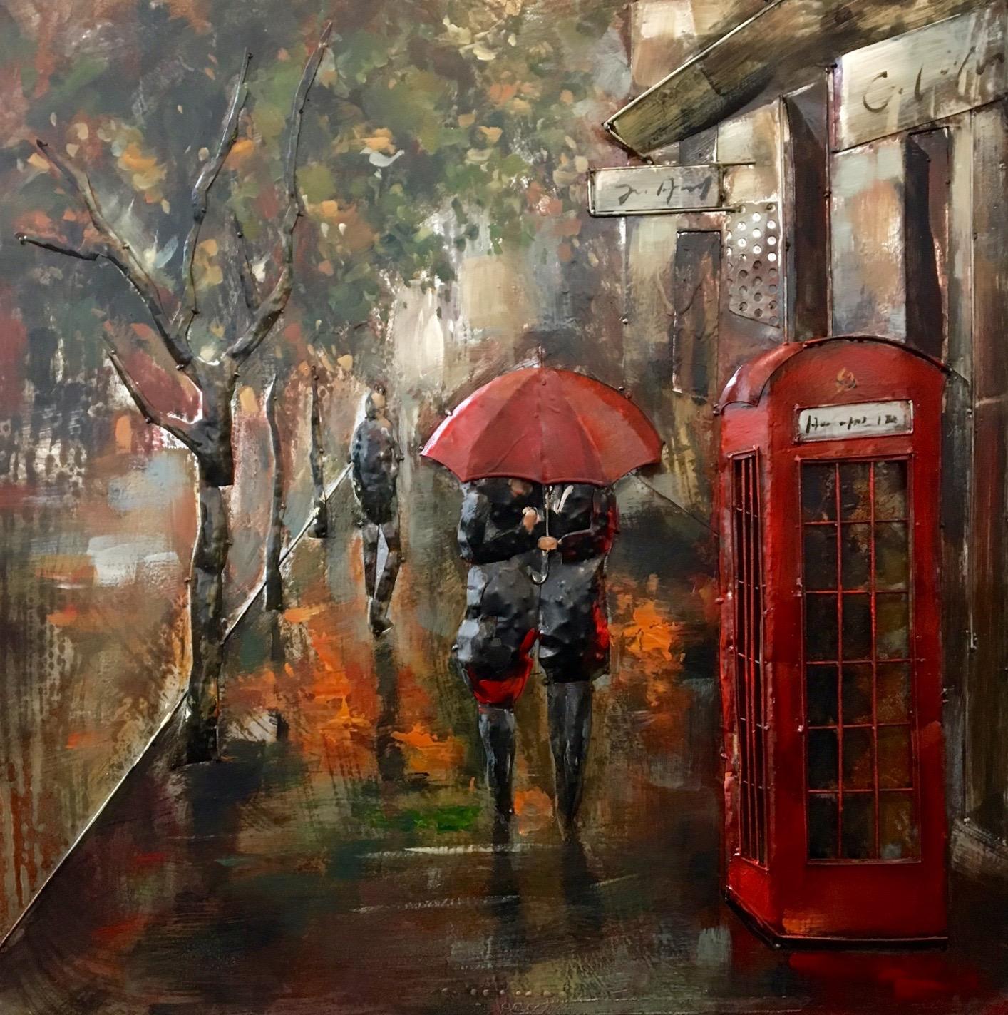 3d Schilderij Metaal.Metal Art 3d Schilderij Londen