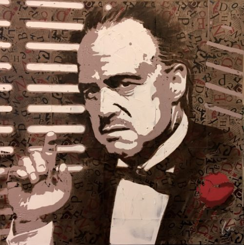 Schilderij 'The Godfather'