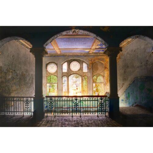 Urbex foto op plexiglas 'Window'