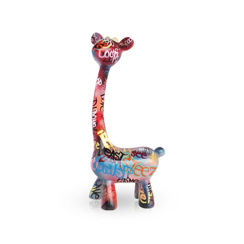 Mia Coppola Standing Giraffe 'Graffiti' (L)