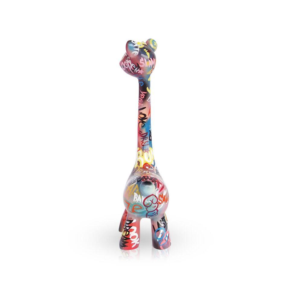 Mia Coppola Standing Giraffe 'Graffiti' (M)
