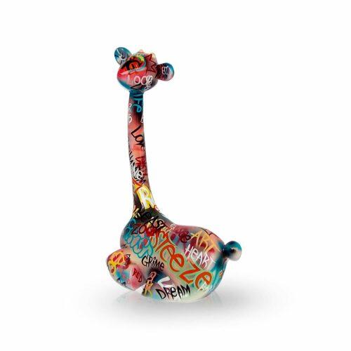 Mia Coppola Lying Giraffe 'Graffiti' (M)