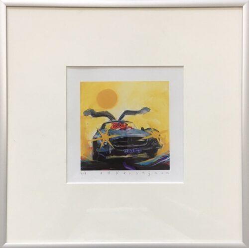 Ad Verstijnen kunstdruk 'Mercedes SL'