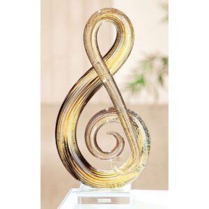 Gilde glas 'Muzieknoot'