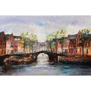 Henry Brand schilderij 'De brug'